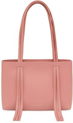 Mansur Gavriel Calf Mini Fringe Bag - Blush