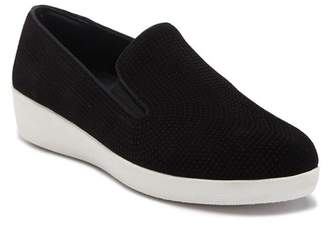 FitFlop Superskate Perferated Wedge Slip-On Sneaker