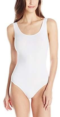Yummie Women's Ruby Cotton Seamless Shaping Thong Bodysuit