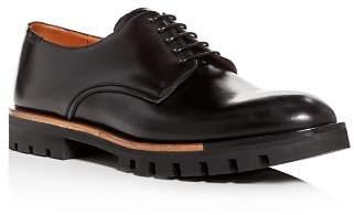 Bally Men's Barnis Derby Leather Plain Toe Oxfords
