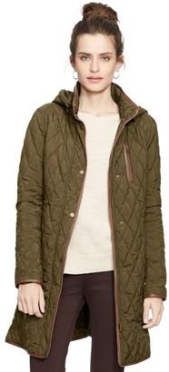 Women's Lauren Ralph Lauren Hooded Quilted Coat $230 thestylecure.com
