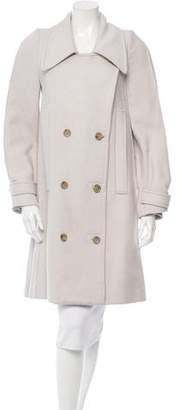 Maison Margiela Wool & Angora Coat