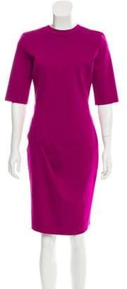 Emporio Armani Neoprene Knee-Length Dress