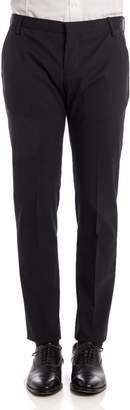 Entre Amis Virgin Wool Blend Trousers