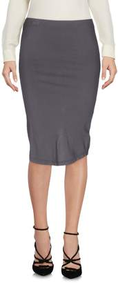 James Perse Knee length skirts