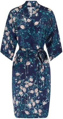 Genevie Delphine Silk Kimono