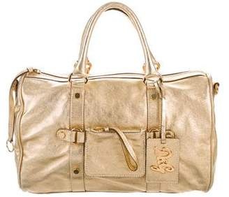 Dolce & Gabbana Metallic Leather Handbag