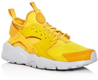 Nike Men's Air Huarache Run Ultra Lace Up Sneakers