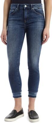 Mavi Jeans Tess High Waist Double Released Hem Skinny Jeans