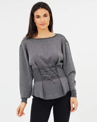 Asilio Rhone Corset Sweater