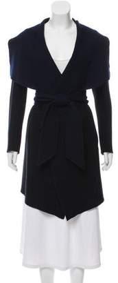Donna Karan Wool Knee-Length Coat