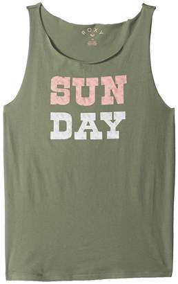 Roxy Kids Pretty Heart Sun Day Tank Top Girl's Sleeveless