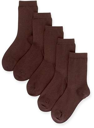 Marks and Spencer 5 Pairs of FreshfeetTM Cotton Rich School Socks (3-16 Years)