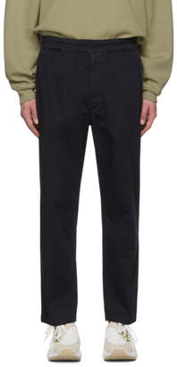 Acne Studios Navy Avlin Trousers