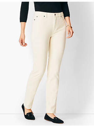 Talbots High-Rise Straight-Leg Cords
