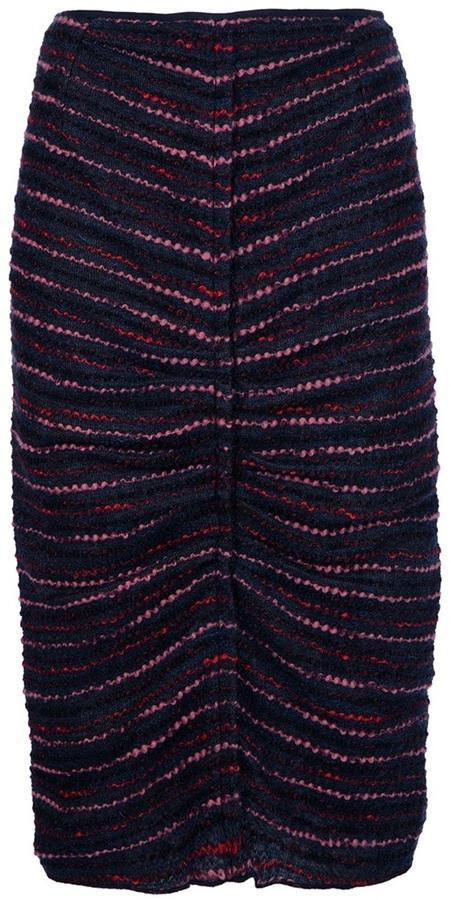Nina Ricci tweed pencil skirt
