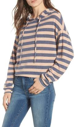 Chloé AND KATIE Stripe Brushed Hacci Hoodie