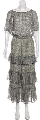 Isabel Marant Silk Maxi Dress