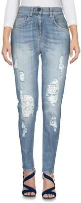 Elisabetta Franchi Denim pants - Item 42689448CF