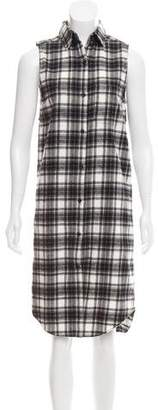 Jenni Kayne Plaid Flannel Shirtdress