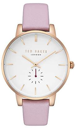 Ted Baker Female 'Olivia' Quartz Stainless Steel and Pink Casual Watch