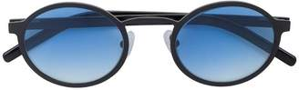 Blyszak Oval Sunglasses with Ocean Gradient Lenses