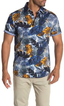 Robert Graham Palm Bay Short Sleeve Classic Fit Hawaiian Shirt