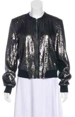 Paige Embellished Bomber Jacket