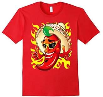 Chilli Pepper On Fire