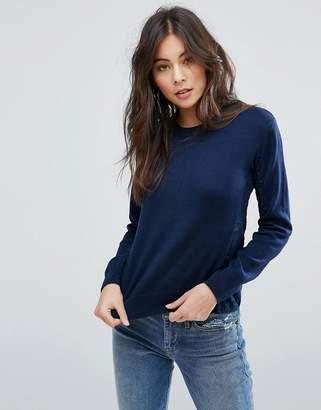 YMC Paneled Knit Sweater