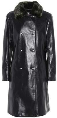 Shrimps Sinclair faux leather coat