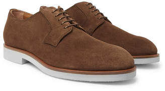 HUGO BOSS Eden Suede Derby Shoes