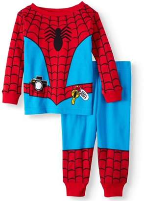 Spiderman Cotton Tight Fit Pajamas, 2-piece Set (Baby Boys)