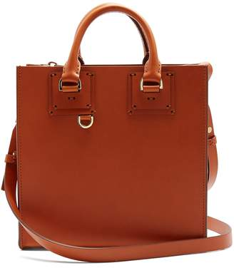 Sophie Hulme Albion square leather tote bag