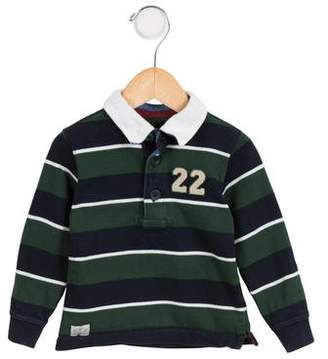 Marie Chantal Boys' Striped Polo Shirt