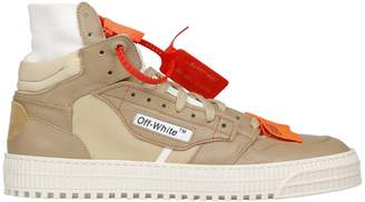 Off-White Branded Hi-top Sneakers