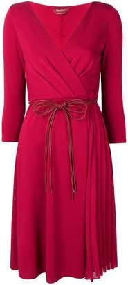Max Mara wrap dress
