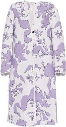 Jil Sander Folium Embroidered Coat