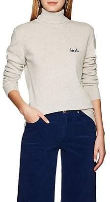 """Maison Labiche Women's """"Très Chic"""" Cashmere Turtleneck Sweater - Gray"""