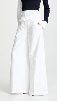 ADEAM Double Waistband Trousers