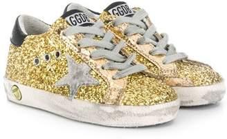 Golden Goose Kids glitter Super Star sneakers