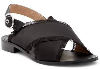 Shellys London Endy Fringed Cross Strap Sandal