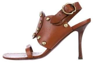 Celine Studded Leather Sandals