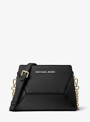 Michael Kors Prism Medium Saffiano Leather Crossbody Bag