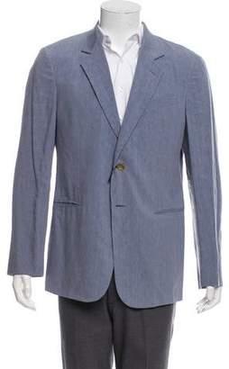 Giorgio Armani Linen & Silk-Blend Jacket w/ Tags