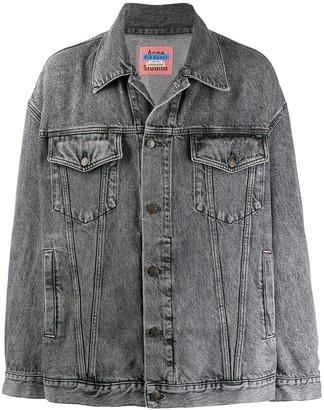 Acne Studios oversized loose-fit denim jacket