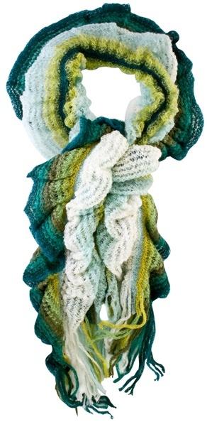 MISSONI - Laddered knit scarf