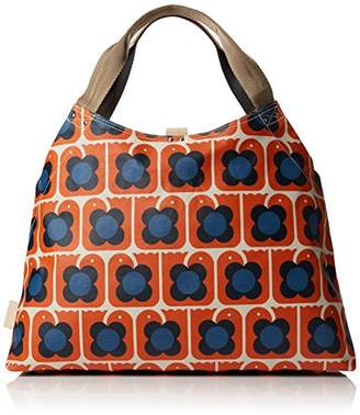 Orla Kiely Love Birds Print Large Holdall Bag