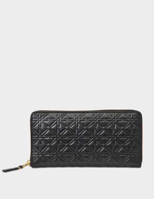 Comme des Garcons Pattern A zip around wallet