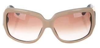 Bvlgari Oversize Logo Sunglasses